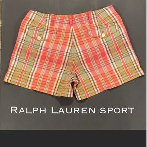 Authentic Ralph Lauren Sport print shorts Sz 2